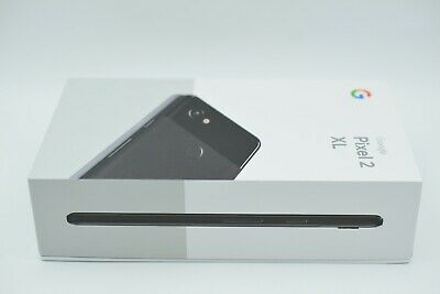 New Google Pixel 2 XL 128GB Just Black (Unlocked) G011C Smartphone Sealed