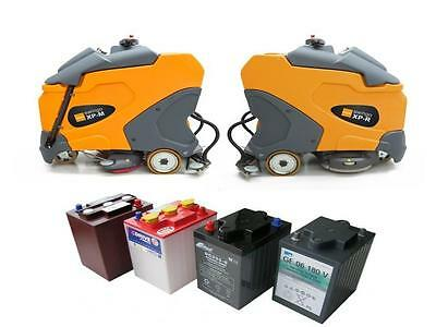 Batteries and Battery Chargers for floor cleaning machines scrubber dryers