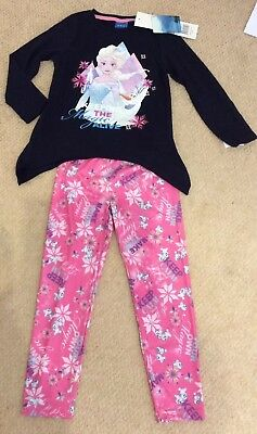 Disney Frozen Girls Long Sleeve Pyjamas - Keeping The Magic Alive - Age 5 Years