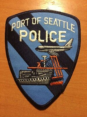 PATCH POLICE PORT OF SEATTLE - WASHINGTON WA state