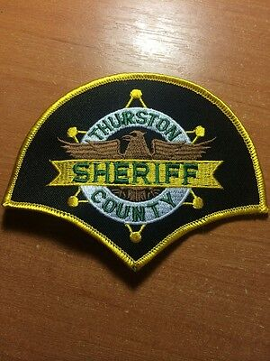 PATCH POLICE SHERIFF THURSTON COUNTY - WASHINGTON WA state