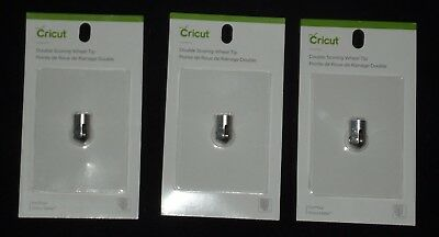 3 Cricut Double Scoring Wheel Tip Packs