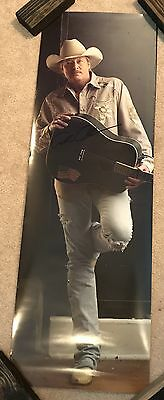 Alan Jackson Autographed Signed 12x36 Door Poster