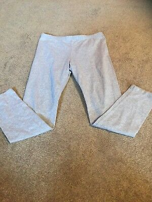 Circo Size Large 10-12 Girls Light Gray Leggings  Elastic Waist