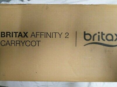 Britax Affinity 2 Carrycot.Boxed.Brand New.
