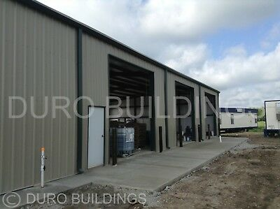 DuroBEAM Steel 72x120x18 Metal Rigid Frame Clear Span Commercial Building DiRECT