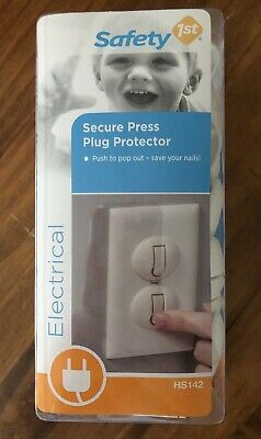 Safety 1st 50 Pack Secure Press Plug Protectors
