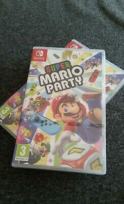 Super Mario Party - Nintendo Switch - PAL - NEW & Sealed