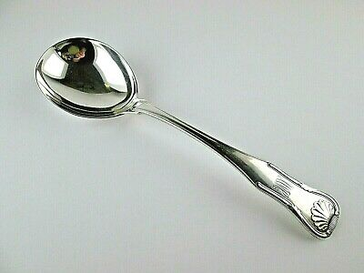 S KIRK & Son KING Sterling Silver LARGE SERVING SPOON Early 925/1000 Mark
