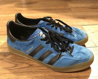 Adidas Gazelle Rare Blue Suede Trainers 7 Football Casual Casuals