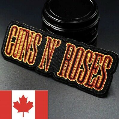 Guns N' Roses Patch Embroidered Iron On Guns N' Roses Patch 🇨🇦 Seller!
