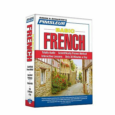 Pimsleur French Basic Course - Level 1 Lessons 1-10 CD: Learn to Speak and ...