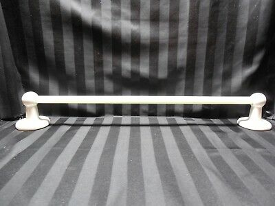 Antique Marble Bathroom Towel Rod and Ceramic Rod Holders