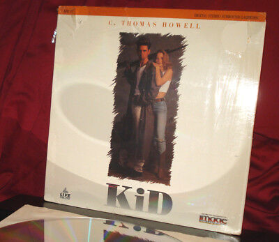 Rare! 'KID' - R-Rated C. Thomas HOWELL Thriller on Laser Disc. Shrink