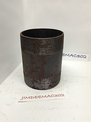 "5"" x 7"" black steel nipple 5""x7"" black pipe nipple"