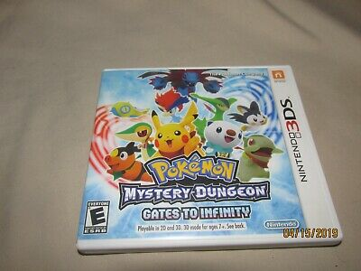 Pokemon: Mystery Dungeon: Gates to Infinity (Nintendo 3DS) Pre-Owned
