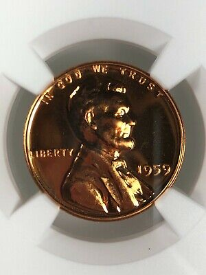 1959 1C NGC PF 67 RD Proof Lincoln Cent