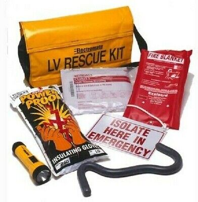 Nesco LOW VOLTAGE RESCUE KIT 7-Tools With Strap, Yellow
