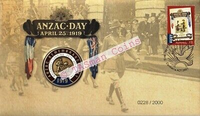 PNC Australia 2019 ANZAC Day Medallion Limited Edition 2000