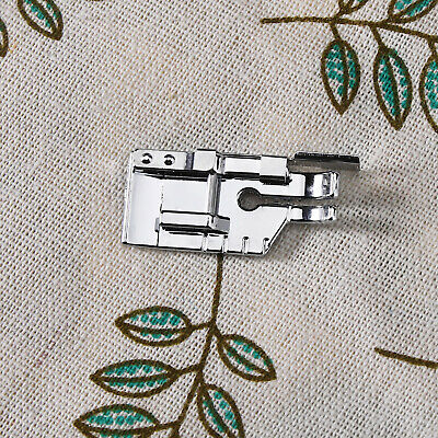 """1/4"""" (Quarter Inch) Quilting Sewing Machine Snap on Presser Foot with Edge Guide"""