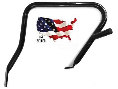 Black Rh Side Harley Saddlebag Guard Touring Electra Glide Ultra Classic Limited