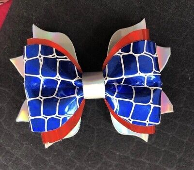 Plastic Hair Bow Template  4 Inch Double Layered Pinch