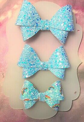 PLASTIC HAIR BOW TEMPLATE 3 INCH 3.5  INCH and 4'' ANNABELLA