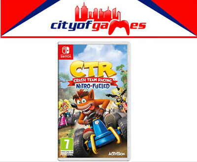 CTR Crash Team Racing Nitro Fueled Nintendo Switch Game Brand New In Stock