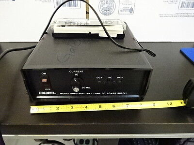 Optical Oriel 6060 Spectral Lamp Dc Power Supply As Pictured With Lamp #tb-3