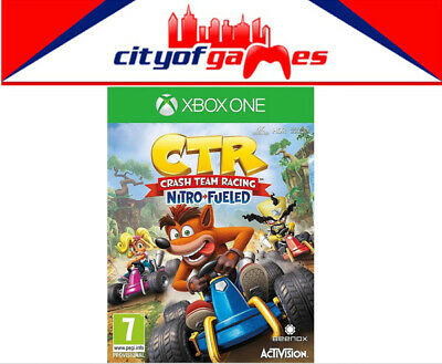 CTR Crash Team Racing Nitro Fueled Xbox One Game Brand New In Stock