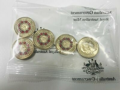 2019 $2 Bring Them Home Repatriation Centenary Royal Australian Mint Bag