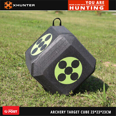 Archery Polyhedral Target 3d High Density Self Healing Foam Cube 23cmx23cmx23cm