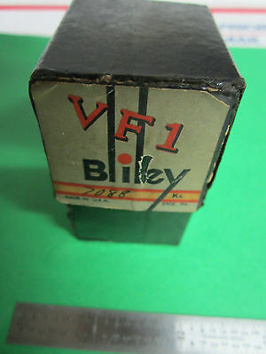 Bliley Wwii Quartz Crystal Variable Frequency Vf1 7088 Kc Original Box