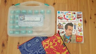 Paper Punch Kit. Scrapbooking.