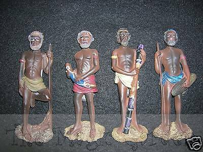4 aboriginal plaster craft resin cement latex molds moulds