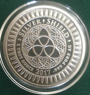 Slave Queen BU #2 - 1 oz 2017 Slave BRIDE B.U.999 Silver Shield Airtite COA 999