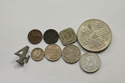 Many Old World Coins Useful Lot B10 Syd3