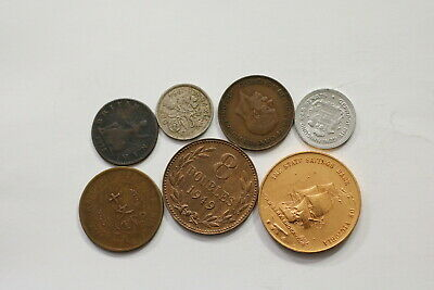 Many Old World Coins Useful Lot B10 Syg24