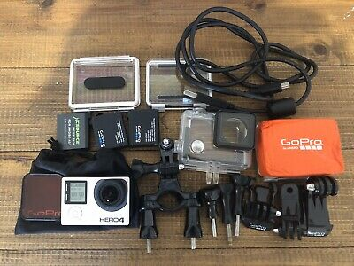 GoPro HERO4 with Accessories And Batteries