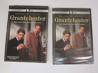 PBS- MASTERPIECE MYSTERY - Grantchester: Season 2 (DVD, 2016) BRAND NEW SEALED