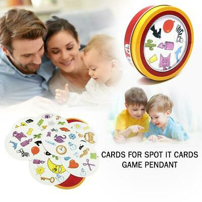 Spot It Find It Board Card Game Educational For Kids Family Xmas Birthday Party