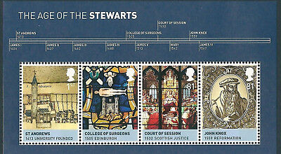 The Age of the Stewarts Mini Sheet 2010
