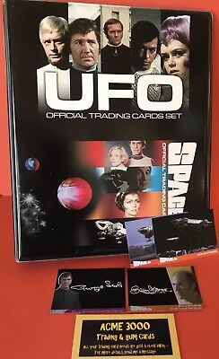UFO & SPACE 1999 - SERIES TWO - OFFICIAL Trading Card BINDER