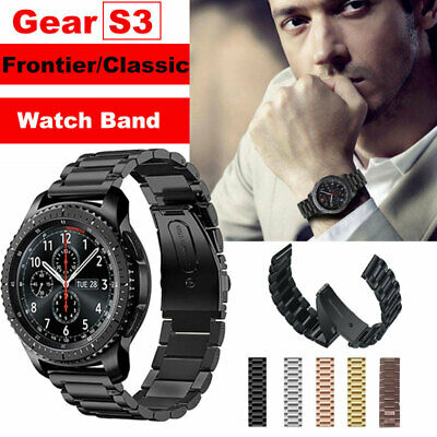 For Samsung Gear S3 Frontier/Classic Stainless Steel Metal Wristband Band Strap