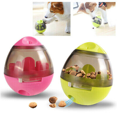Pet Funny Tumbler Treat Leaking Food Ball Dispenser Interactive Dog Cat Toy New