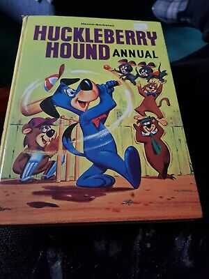 Huckleberry Hound Annual 1964 X VERY GOOD CONDITION FOR AGE X RARE X 1871 X