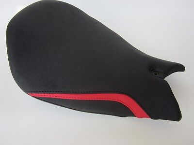 DPd03 Ducati Panigale 1299 & 959 Seat cover with Red FLASH- FRONT