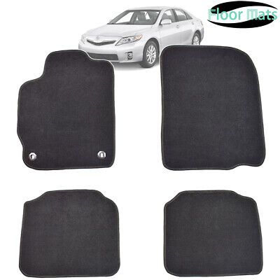 4pcs Nylon Car Floor Mats Liner Carpet For Toyota Camry 07- 11 Front Rear LHD