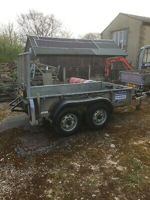 Ifor Williams Twin Wheel Plant / General Purpose Trailer 8ft x 4ft