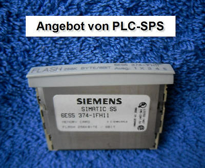 Siemens Simatic S5 6ES5 374-1FH11,  6ES5374-1FH11 E-Stand 2 guter Zustand